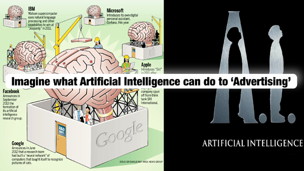 Imaging what Artificial Intelligence can do to Advertising