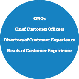 cmos, chief customer officers, customer experience