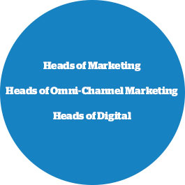 heads of marketing, head of digital, heads of omni-channel marketing