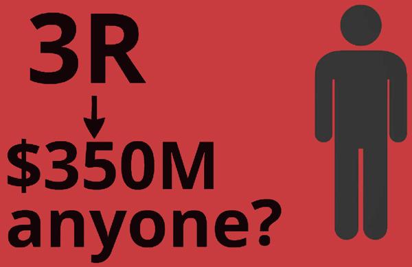 3R 350M anyone