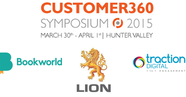 Customer360 Symposium-Bookworld-Lion-Traction-Digital