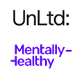 Unltd Mentally Healthy logos